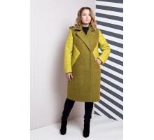 Пальто женское большого размера РК1183-619