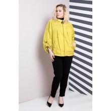 Женская ветровка желтая РК1176-633