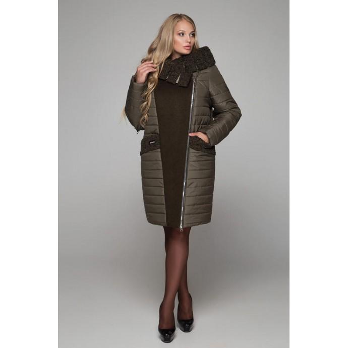 Пальто зимнее больших размеров РК1126-606
