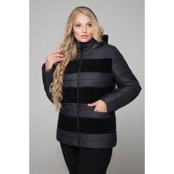 Куртка полосатая пайетка РК1162-607