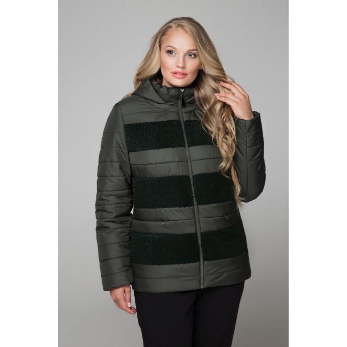 Куртка полосатая пайетка РК1161-607
