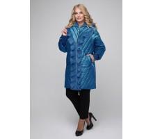 Удлиненная куртка с воланами РК1142-613