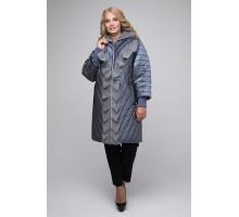 Удлиненная куртка с воланами РК1141-613