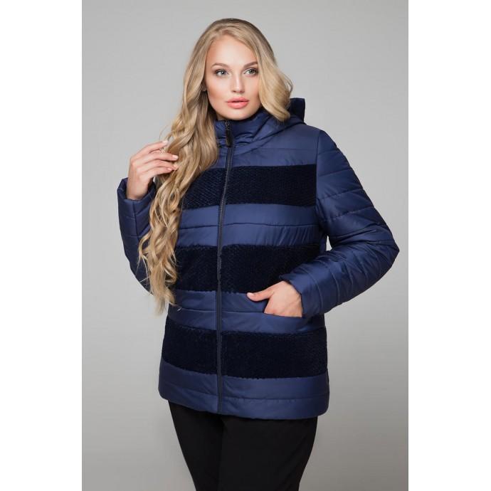 Куртка полосатая пайетка РК1160-607