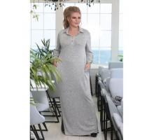 Платье Флокс серое РОЗS616
