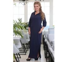 Платье Флокс темно синее РОЗS615