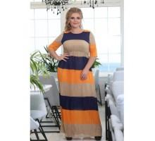 Платье Гофре РОЗS618