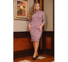 Платье Север короткое розовое РОЗS106