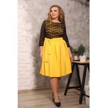 Платье Есения желтое S24