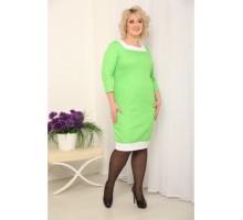 Платье Илона салат РОЗS225