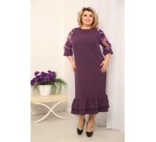 Платье Тала фиолет РОЗS211