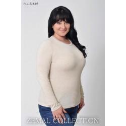 Джемпер женский светлый ТОП1-7-PL4-228-05